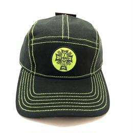 DOGTOWN JET CAP (BLACK/LIME)