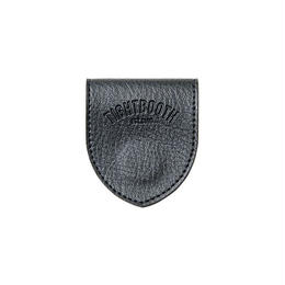 TIGHTBOOTH LEATHER MONEY CLIP (Black)