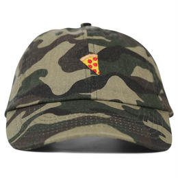 PIZZA Emoji Polo Hat (Camo, Forest Green, Black)