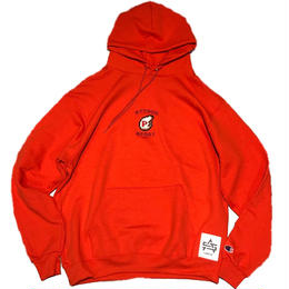 ATTACK ORIGINAL P-WING HOODIE (ORANGE)