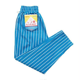 Cookman Chef Pants (Stripe Light Blue)