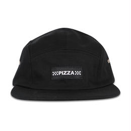 PIZZA CHECK LOGO CAMP CAP (BURGUNDY, BLACK)