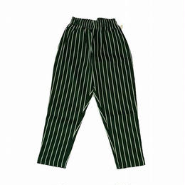 Cookman Chef Pants PINSTRIPE (DARK GREEN)