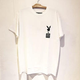 THUMPERS BROOKLYN NYC RHD BOXLOGO TEE (WHITE, BLACK)