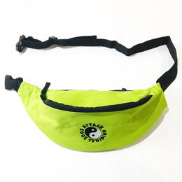 ATTACK ORIGINAL WAIST POUCH (LIME)