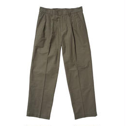 THUMPERS NYC PLEATED WORK PANT (OLIVE, NAVY)