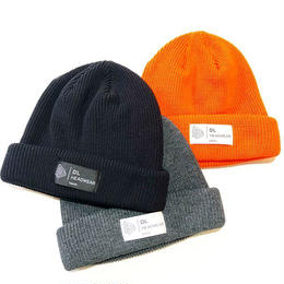 DL Headwear Kenny Cuff Knit (BLACK, CHARCOAL, ORANGE)