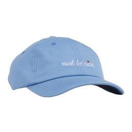 RIPNDIP MUST BE NICE SCRIPT DAD HAT (BLUE)