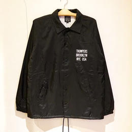 THUMPERS NYC BASIC COACH JACKET (BLACK)
