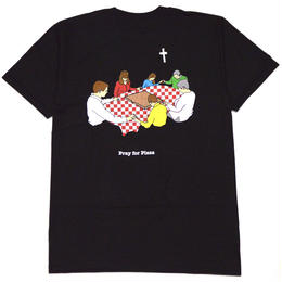 PIZZA GRACE T-SHIRTS(BLACK)