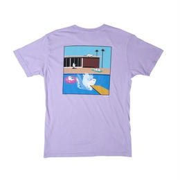 RIPNDIP A NERMAL SPLASH POCKET TEE (LAVENDER)
