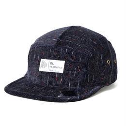 DL Headwear Omega 5Panel Camp Cap (navy matrix)