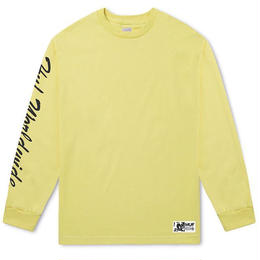 HUF × FELIX SANTEE LONG SLEEVE TEE (BANANA, BLACK)