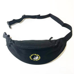 ATTACK ORIGINAL WAIST POUCH (BLACK)