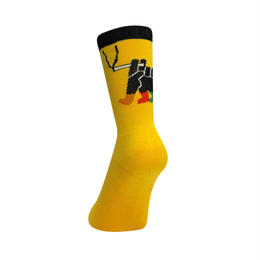 GanaG Socks Weekend Socks (YELLOW, GREY)