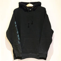 LONELY論理 #9 SUGIMOTO RESPECT HOODIE (BLACK, ICE CAMO)