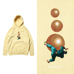 EVISEN TAKESHI'S BALLS HOODY (LIGHT YELLOW)