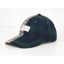 DL Headwear Stale 6Panel Cap (plaid 5050)