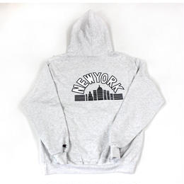 HOTEL BLUE SKYSCRAPER HOODY (BLACK, GREY)