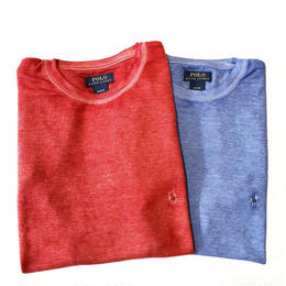 POLO Ralph Lauren Thermal Tee (RED, BLUE)