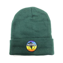 "ATTACK ORIGINAL PRAWNS ""cotton beanie"" (GREEN)"
