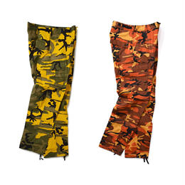 Rothco COLOR CAMO TACTICAL BDU PANTS (YELLOW, ORANGE)