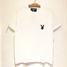 THUMPERS BROOKLYN NYC RHD BIGLOGO TEE (WHITE, BLACK)