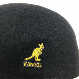 KANGOL SEAMLESS WOOL (BLACK/GOLD, BLACK/WHITE)