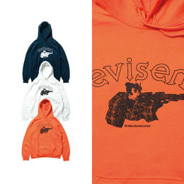 EVISEN DIRTY EVI TARO HOODY (NAVY, WHITE, ORANGE)