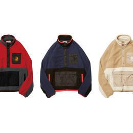 Evisen Skateboardsゑ BUSHI FLEECE JKT (RED,  NAVY, BEIGE)