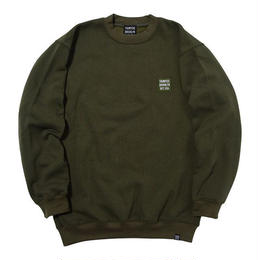 THUMPERS EMBROIDERY SWEAT (OLIVE, BLACK)