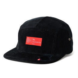 DL Headwear Omega 5Panel Camp Cap (black cord)