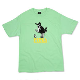 PIZZA Western Spy Tee (Mint, White)