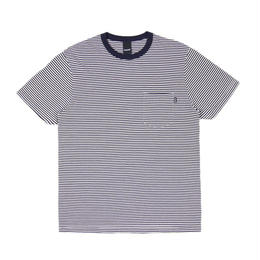 Only NY Mercer Stripe Pocket T-Shirt (Navy)