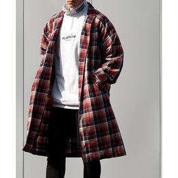 FLATLUX Envy Gown Shirt (red check, green check)