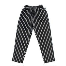 Cookman Chef Pants PINSTRIPE (BLACK)