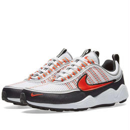 NIKE AIR ZOOM SPIRIDON '16 (WHITE/TEAM ORANGE - BLACK)
