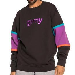 GRIMEY FLAMBOYANT GRMY CREWNECK (BLACK)