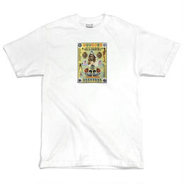 40s&Shorties POSTER TEE (WHITE, CHARCOAL)