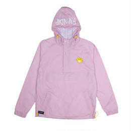 RIPNDIP EVERYTHING WILL BE OK ANORAK JACKET (PINK)