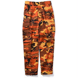 Rothco COLOR CAMO TACTICAL BDU PANTS (ORANGE CAMO)