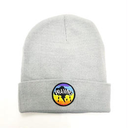 "ATTACK ORIGINAL PRAWNS ""cotton beanie"" (GREY)"