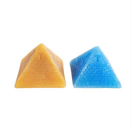 THEORIES Theoramid Skate Wax (Yellow, Blue)