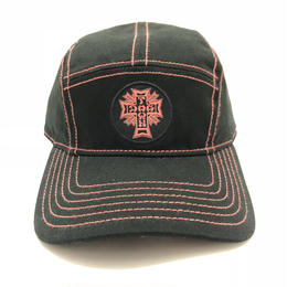 DOGTOWN JET CAP (BLACK/ORANGE)