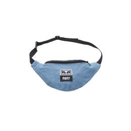 OBEY Wasted Hip Bag (DENIM)
