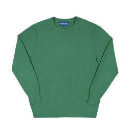 ONLY NY WAFFLE KNIT CREWNECK SWEATER (GREEN, ALMOND, BLACK)
