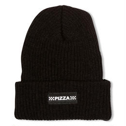PIZZA CHECK LOGO BEANIE (GREY, BLACK)