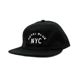 HOTEL BLUE ARCH CAP (BLACK, NAVY)