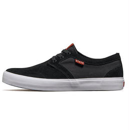 STATE FOOTWEAR BISHOP SUEDE (BLACK/WHITE)