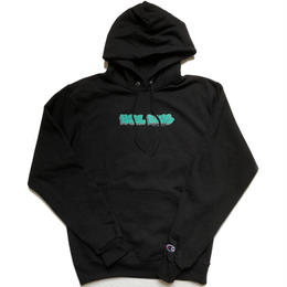 HOTEL BLUE GRAFF CHAMPION HOODY (BLACK)